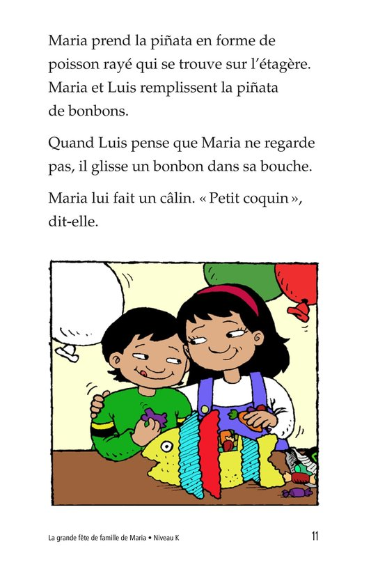 Book Preview For Maria's Family Celebration Page 11