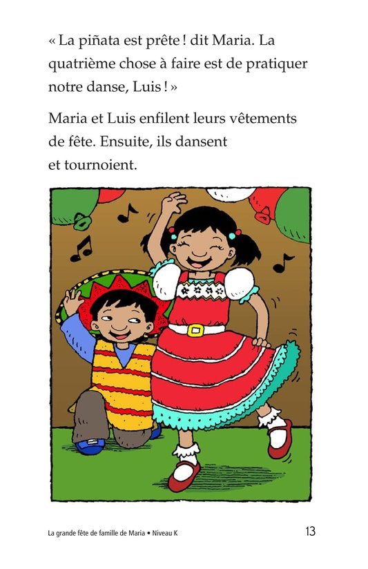 Book Preview For Maria's Family Celebration Page 13