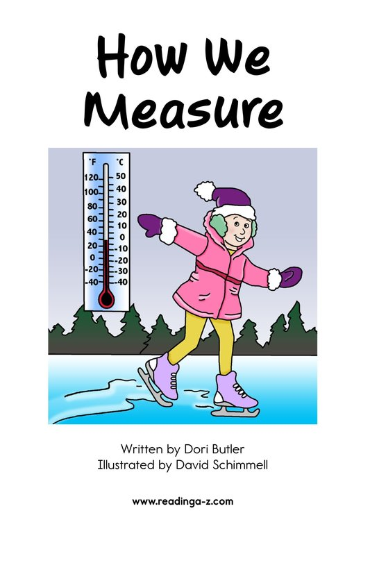 Book Preview For How We Measure Page 2