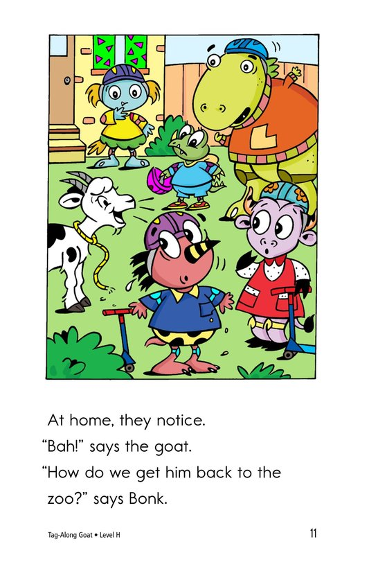 Book Preview For Tag-Along Goat Page 11