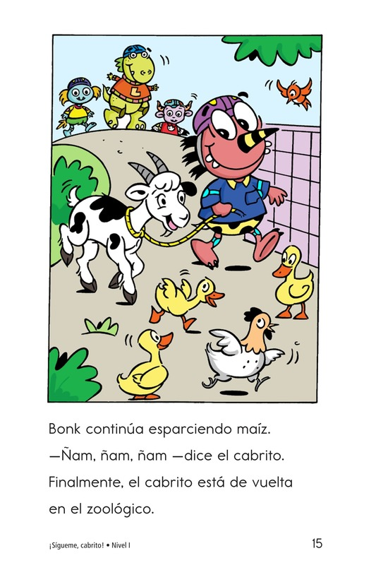 Book Preview For Tag-Along Goat Page 15