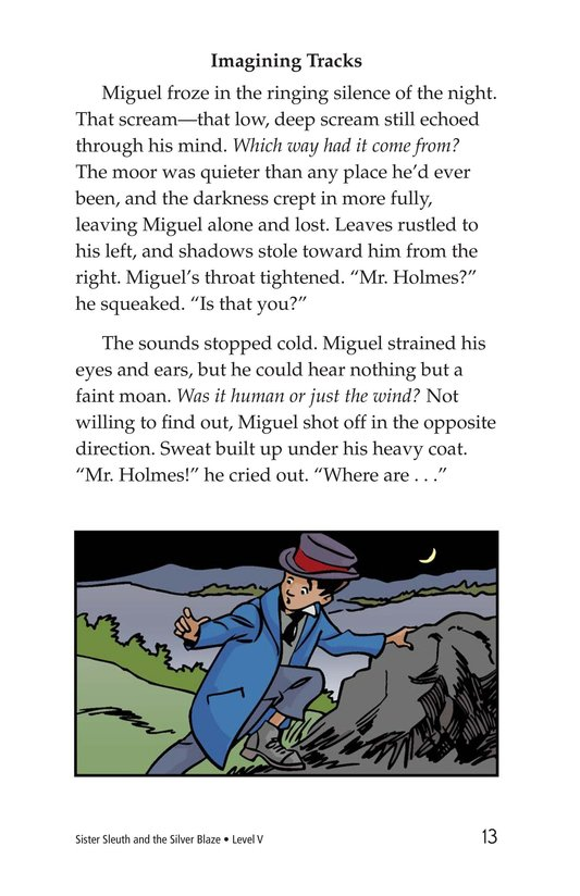 Book Preview For Sister Sleuth and the Silver Blaze Page 13