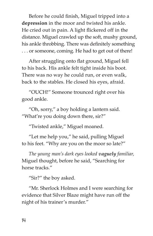 Book Preview For Sister Sleuth and the Silver Blaze Page 14