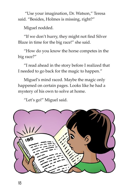 Book Preview For Sister Sleuth and the Silver Blaze Page 18