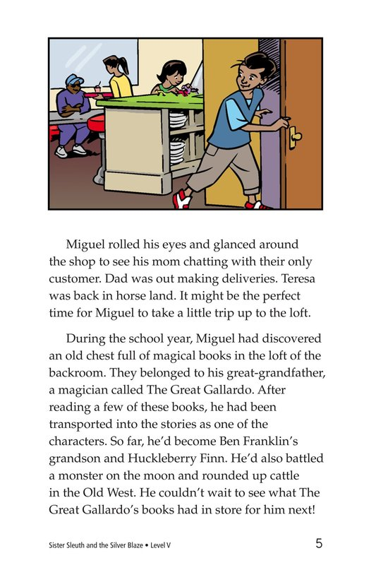 Book Preview For Sister Sleuth and the Silver Blaze Page 5