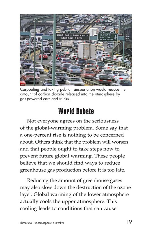 Book Preview For Threats to Our Atmosphere Page 19