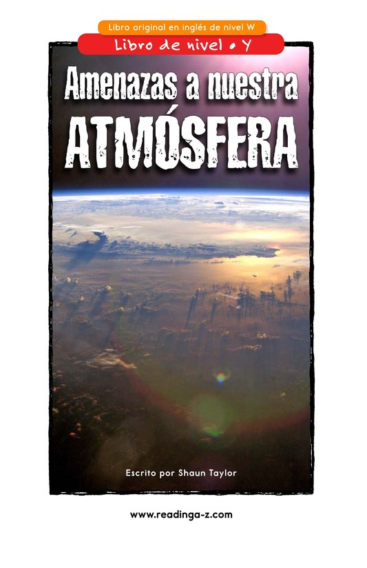 Book Preview For Threats to Our Atmosphere Page 1