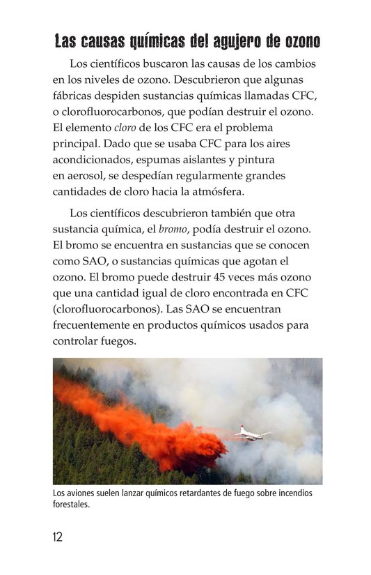 Book Preview For Threats to Our Atmosphere Page 12