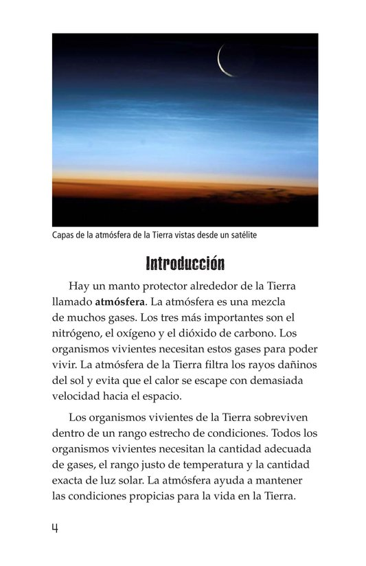 Book Preview For Threats to Our Atmosphere Page 4