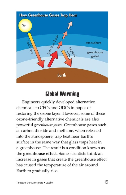 Book Preview For Threats to Our Atmosphere Page 15
