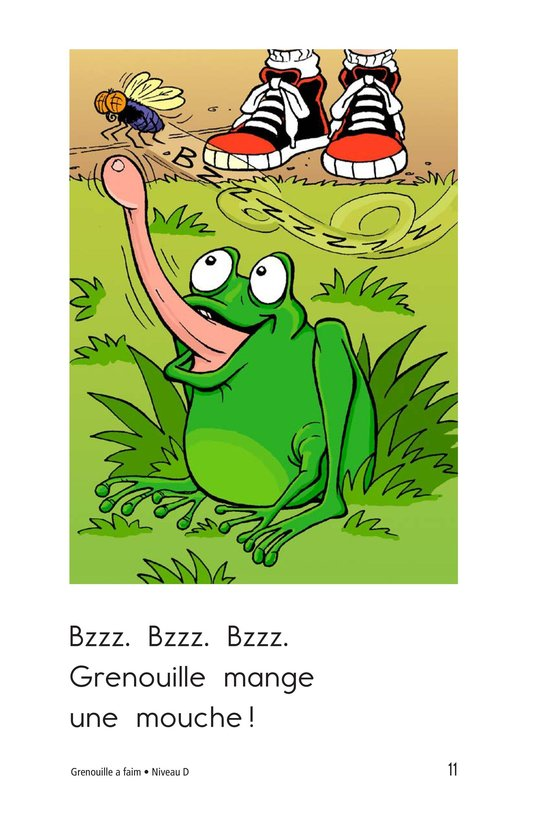 Book Preview For Frog Is Hungry Page 11