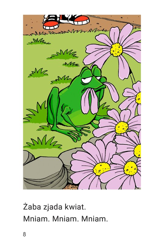 Book Preview For Frog Is Hungry Page 8