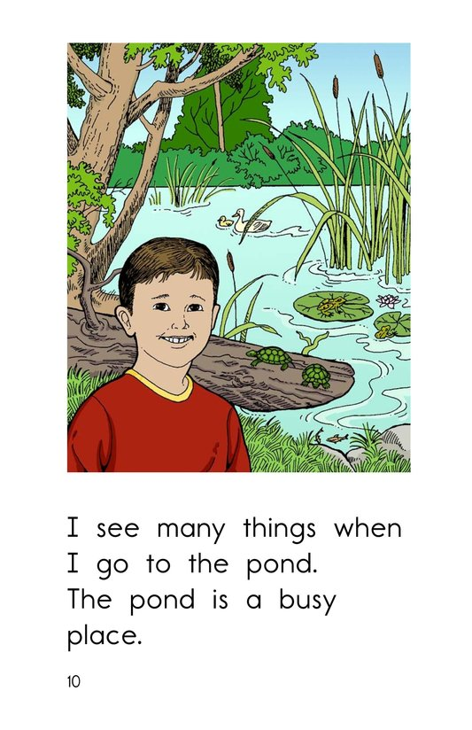 Book Preview For The Busy Pond Page 10