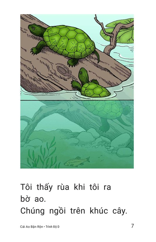 Book Preview For The Busy Pond Page 7