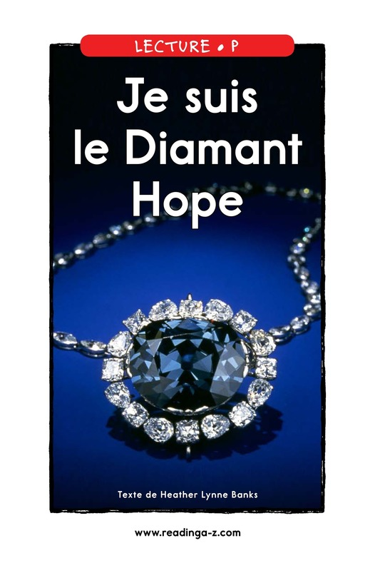 Book Preview For I Am the Hope Diamond Page 1