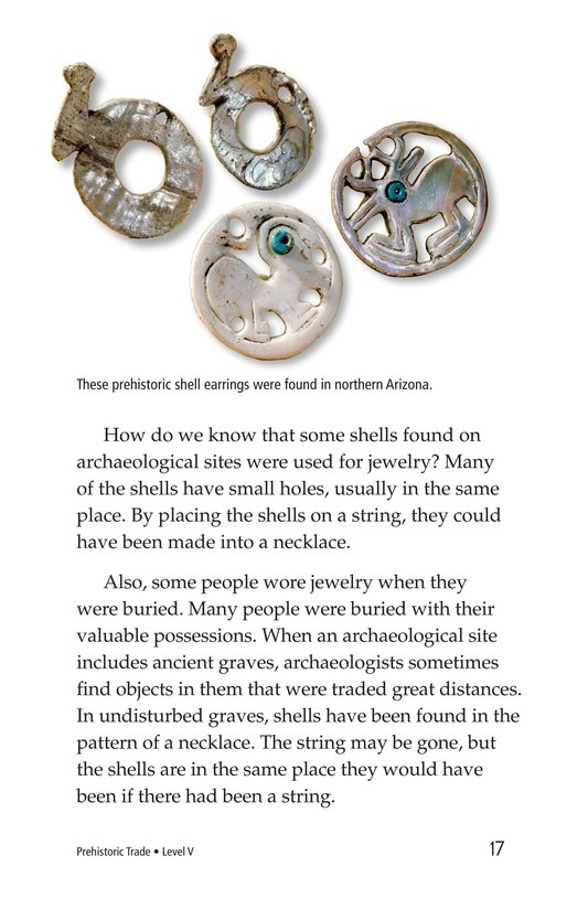 Book Preview For Prehistoric Trade Page 17