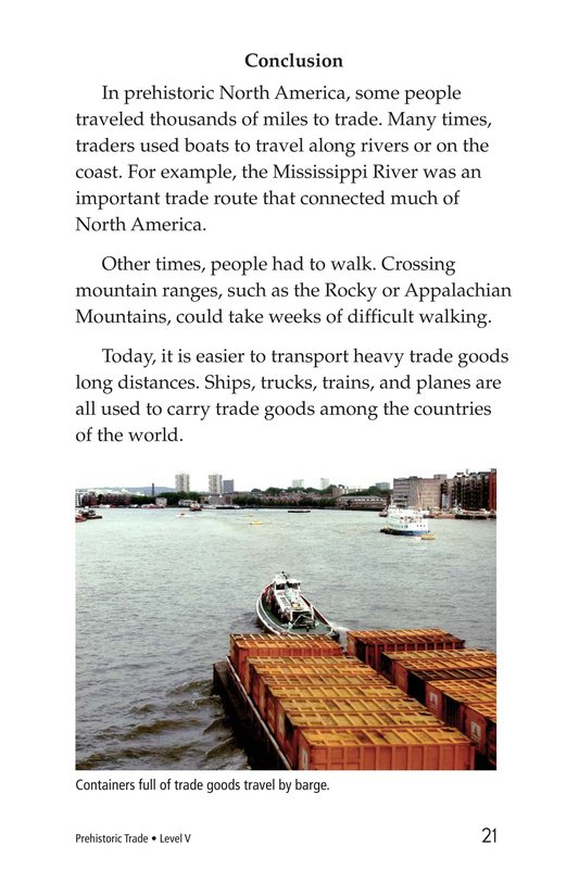 Book Preview For Prehistoric Trade Page 21