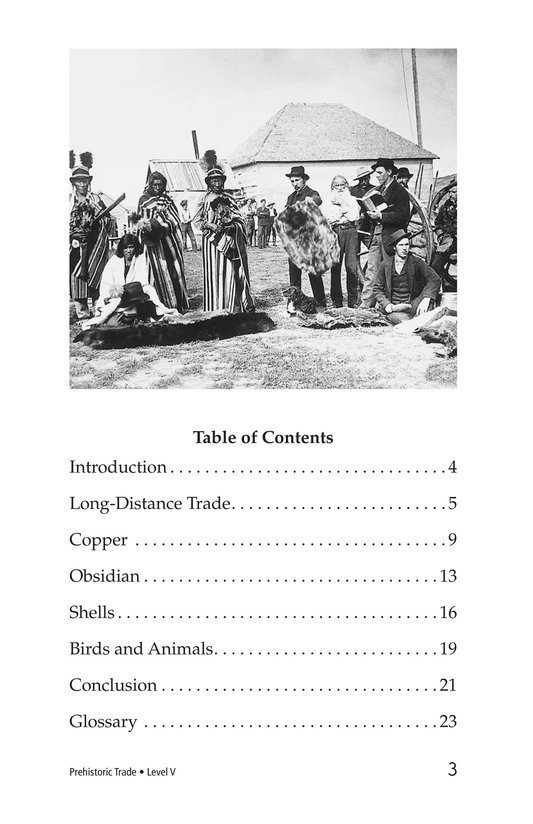 Book Preview For Prehistoric Trade Page 3