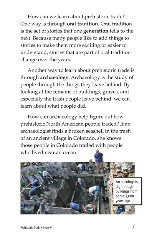 Book Preview For Prehistoric Trade Page 7