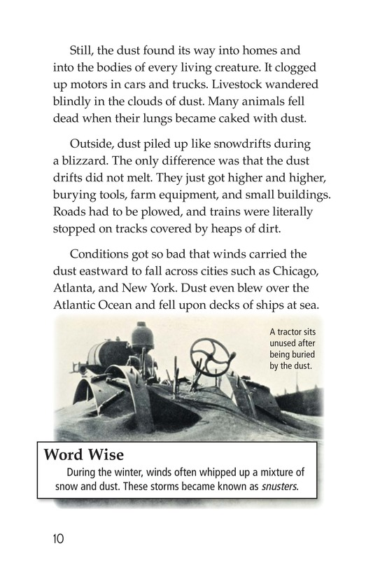 Book Preview For Dust Bowl Disaster Page 10