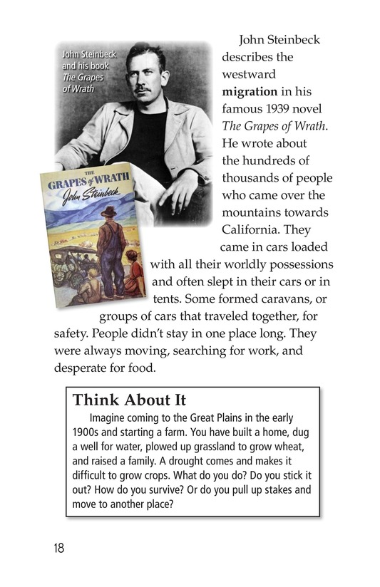 Book Preview For Dust Bowl Disaster Page 18