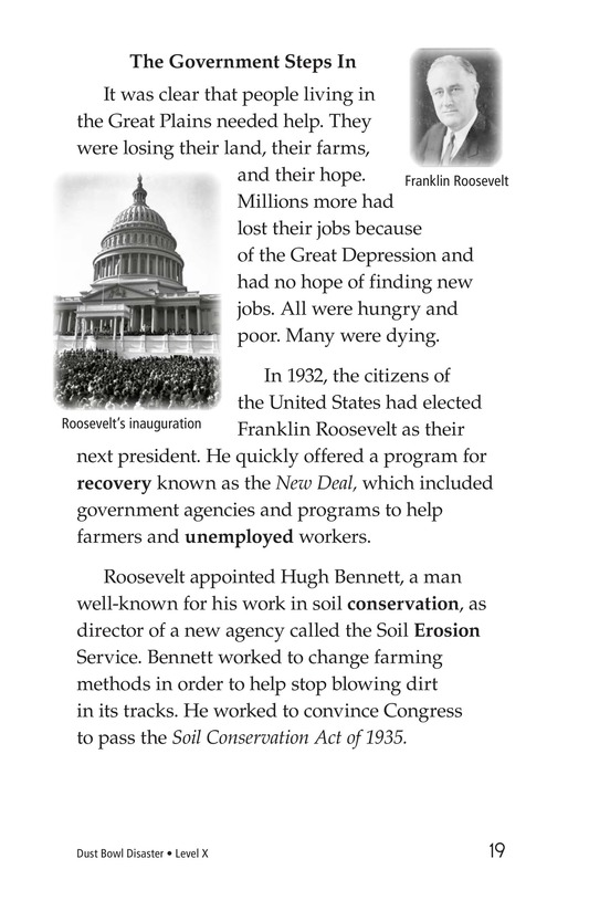 Book Preview For Dust Bowl Disaster Page 19