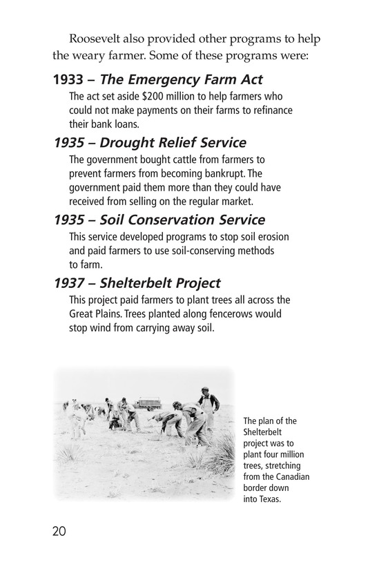 Book Preview For Dust Bowl Disaster Page 20