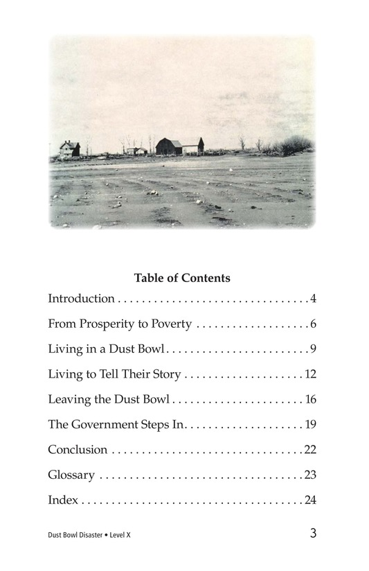 Book Preview For Dust Bowl Disaster Page 3