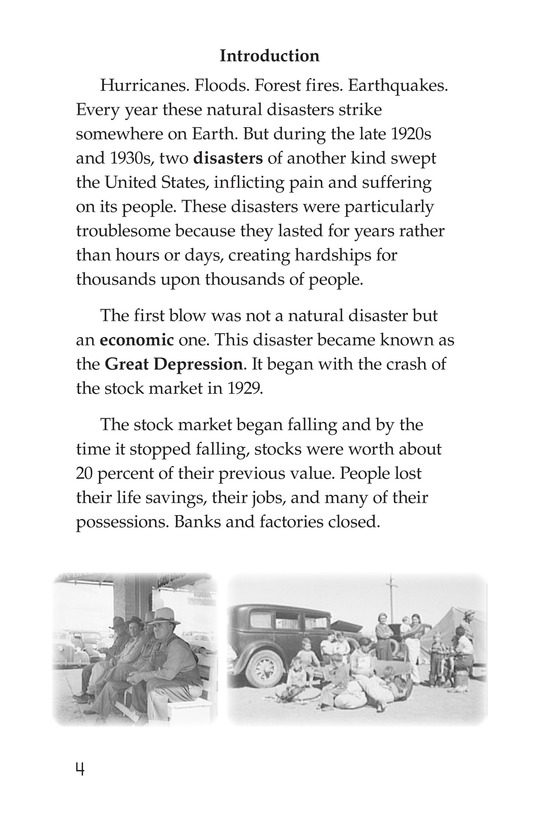 Book Preview For Dust Bowl Disaster Page 4