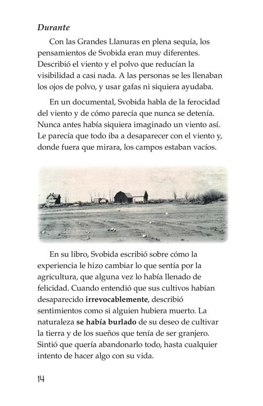 Book Preview For Dust Bowl Disaster Page 14