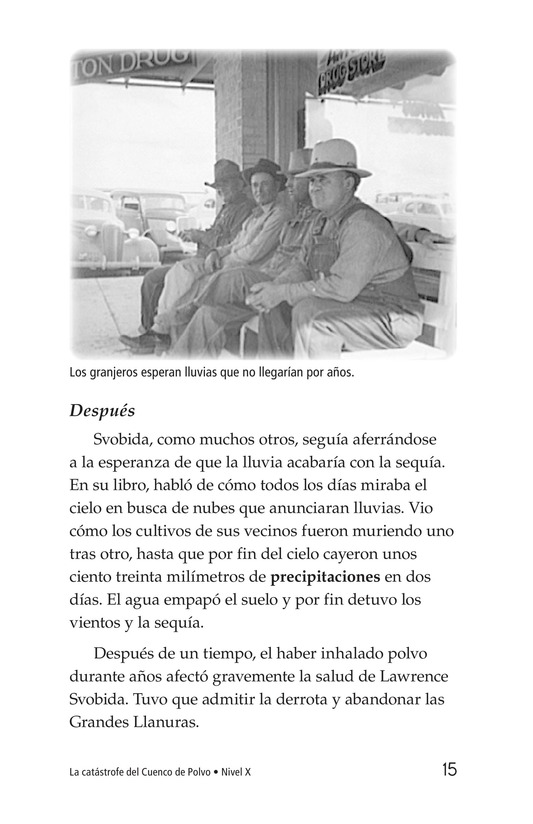 Book Preview For Dust Bowl Disaster Page 15