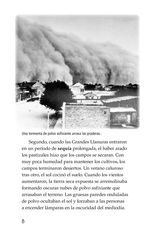 Book Preview For Dust Bowl Disaster Page 8