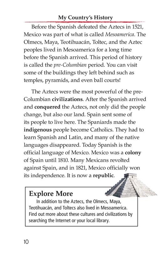 Book Preview For M Is for Mexico Page 10