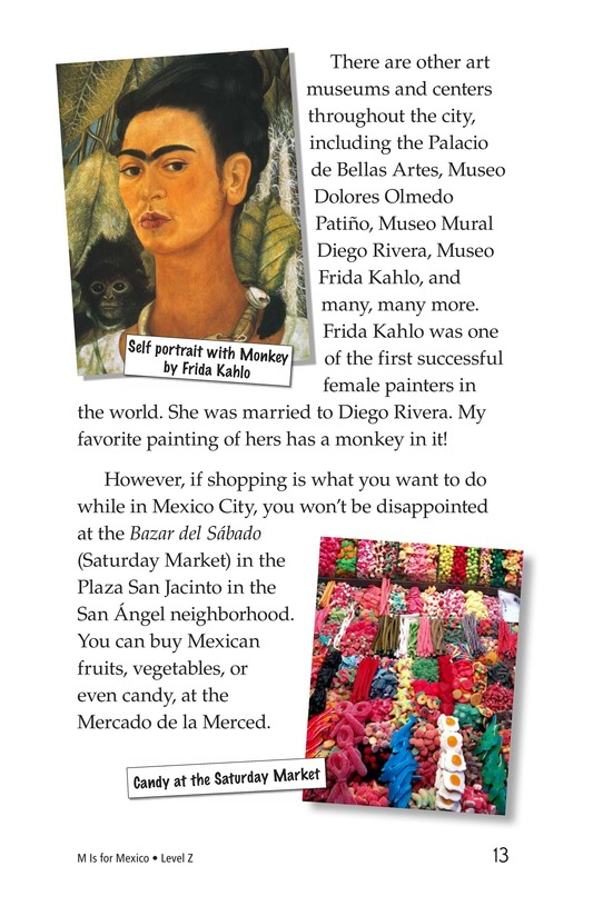 Book Preview For M Is for Mexico Page 13