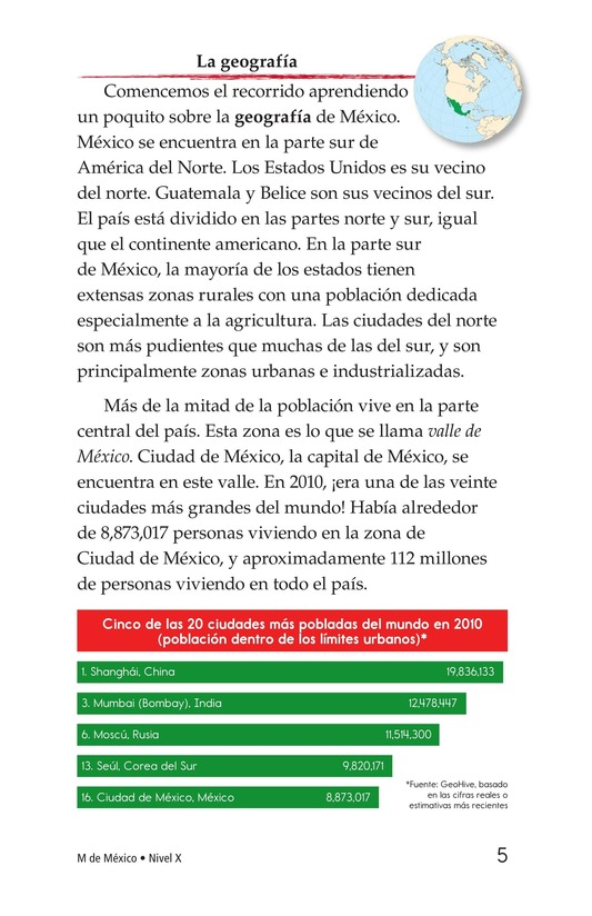 Book Preview For M Is for Mexico Page 5