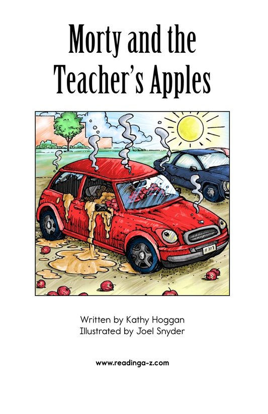 Book Preview For Morty and the Teacher's Apples Page 2
