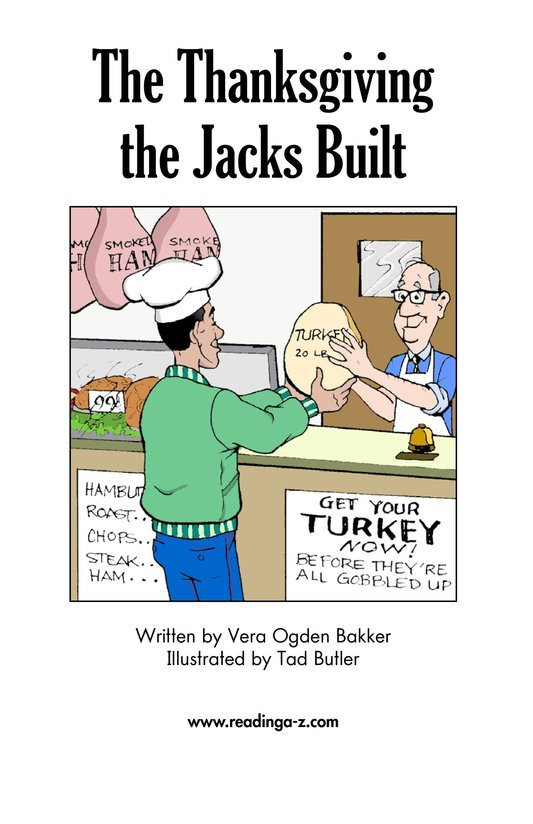 Book Preview For The Thanksgiving the Jacks Built Page 2
