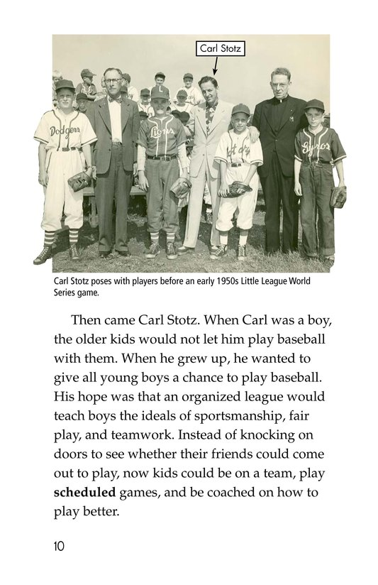 Book Preview For A Big League for Little Players Page 10