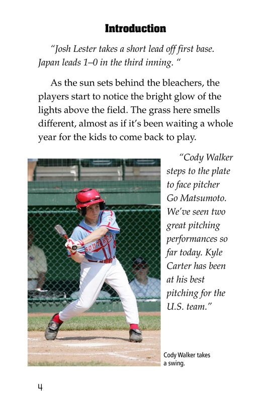 Book Preview For A Big League for Little Players Page 4