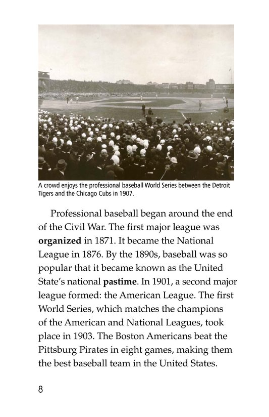Book Preview For A Big League for Little Players Page 8