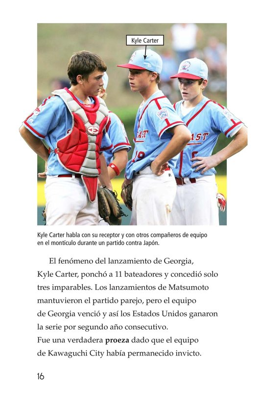 Book Preview For A Big League for Little Players Page 16