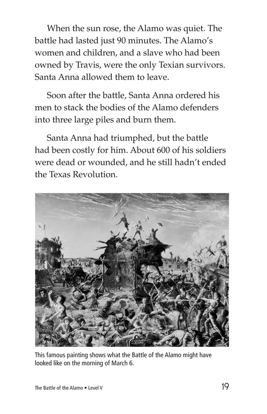 Book Preview For The Battle of the Alamo Page 19