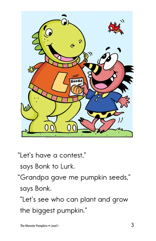 Book Preview For The Monster Pumpkins Page 3