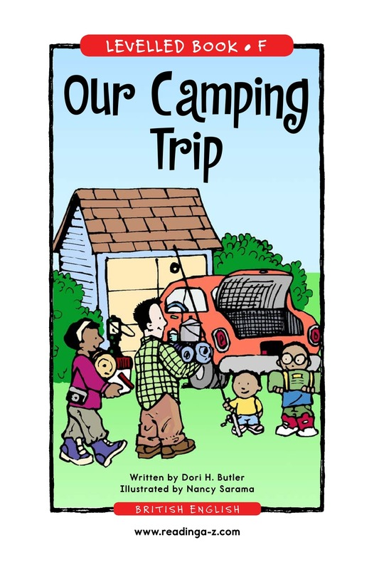 Book Preview For Our Camping Trip Page 1