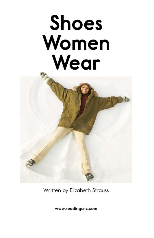 Book Preview For Shoes Women Wear Page 2