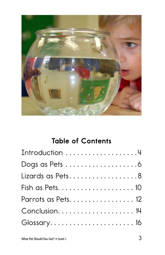 Book Preview For What Pet Should You Get? Page 3