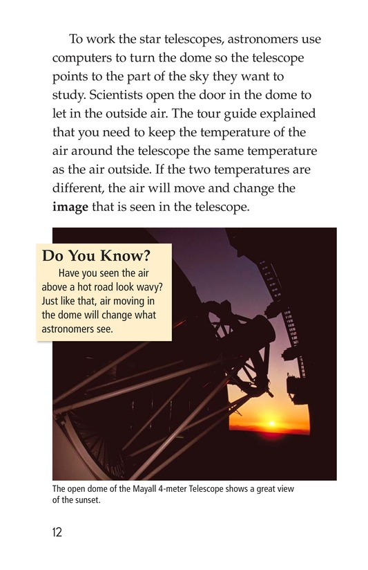 Book Preview For A Visit to Kitt Peak Page 12