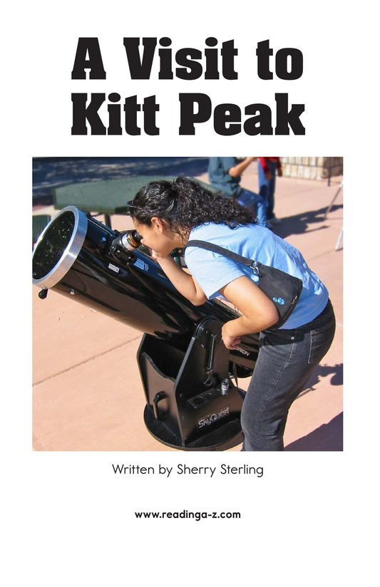 Book Preview For A Visit to Kitt Peak Page 2