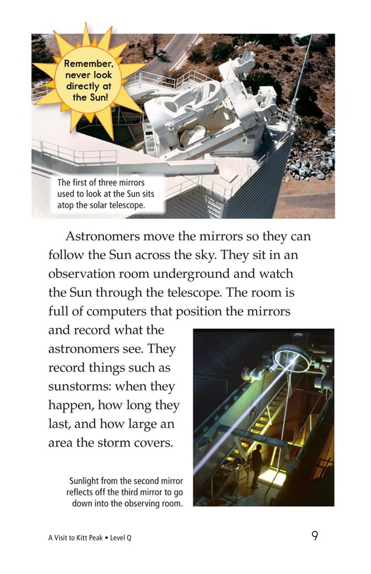 Book Preview For A Visit to Kitt Peak Page 9