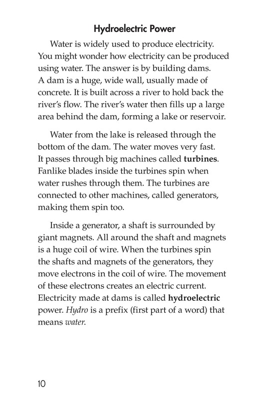 Book Preview For Energy Sources: The Pros and Cons Page 10